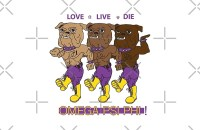 """""""Omega Psi Phi - Love Live Die Dogs"""" Studio Pouches by ..."""