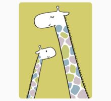 Giraffe family Kids Tee