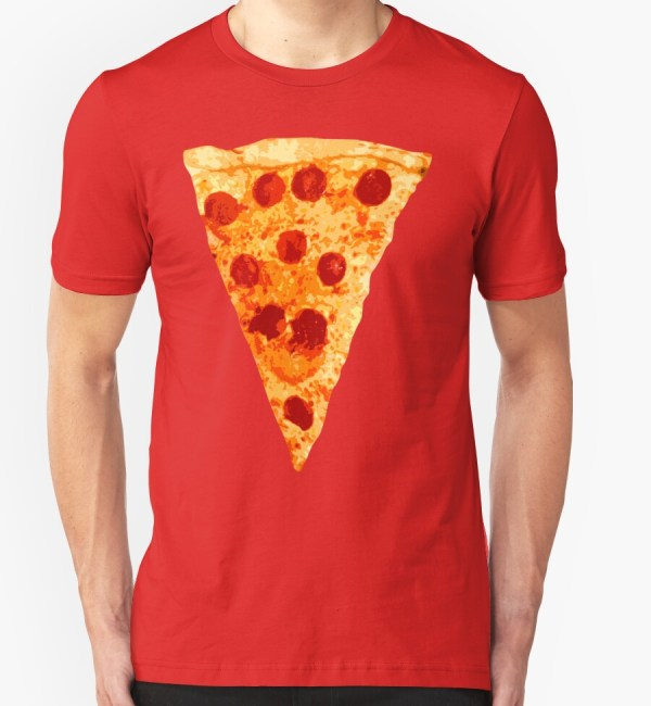 """pizza Slice"" T-shirts & Hoodies Adamcampen Redbubble"