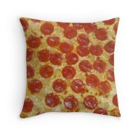 """Pizza"" Throw Pillows by toppestpower"