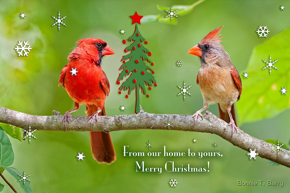 From Our House To Yours Merry Christmas By Bonnie T