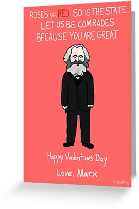 Karl Marx Greeting Cards By Ben Kling Redbubble