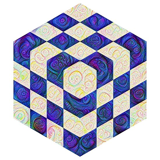 #DeepDream Color Squares Visual Areas 5x5K v1448964615