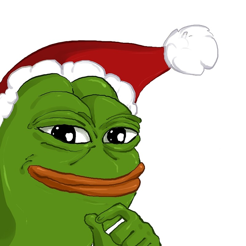 Holiday Pepe By SpookyBjorn Redbubble