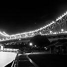The Storey Bridge - B&W by Jack McClane