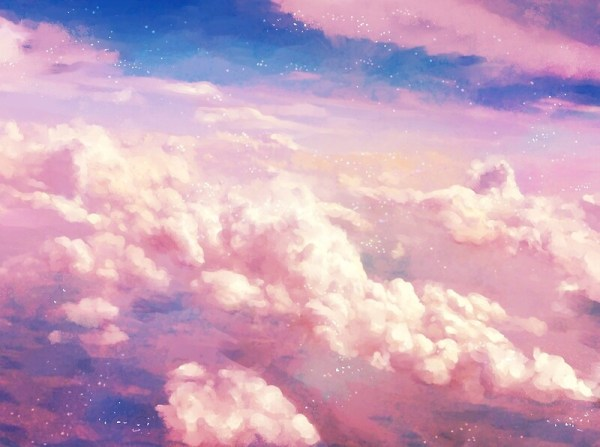 quotPink Cloudsquot by bevsi Redbubble