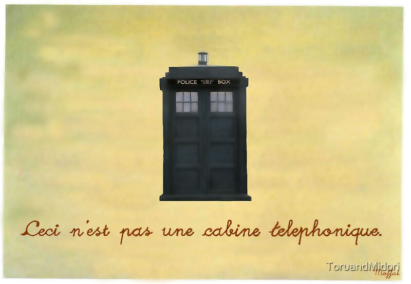 When The Doctor Met Magritte