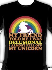 Delusional Unicorn Shirts