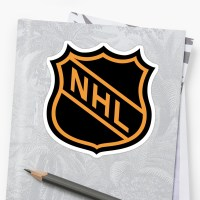 """National Hockey League (NHL)"" Stickers by rcvan 