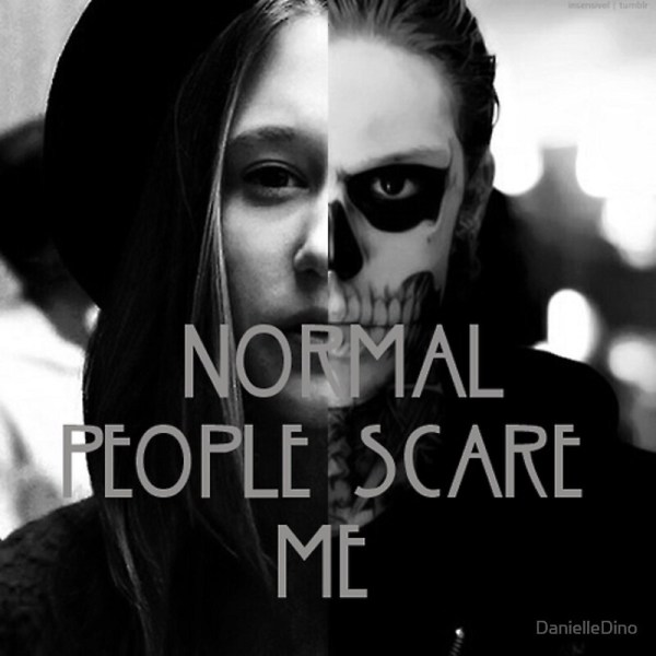 American Horror Story Tate and Violet