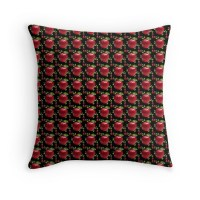 """Apple Pattern in 13500px x 8972px"" Throw Pillows by"