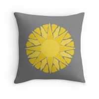 """sun!"" Throw Pillows by gasponce 