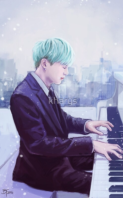 Piano Man Yoongi by kharys
