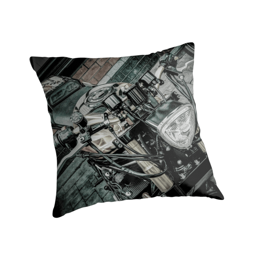 Gsxr custom motorcycle Throw pillow and Tote Bag Throw