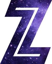 Purple Letter Z