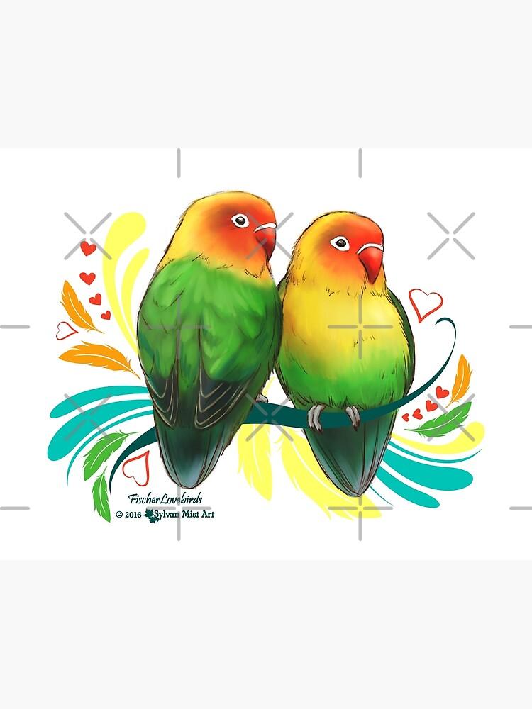 fischer lovebirds poster