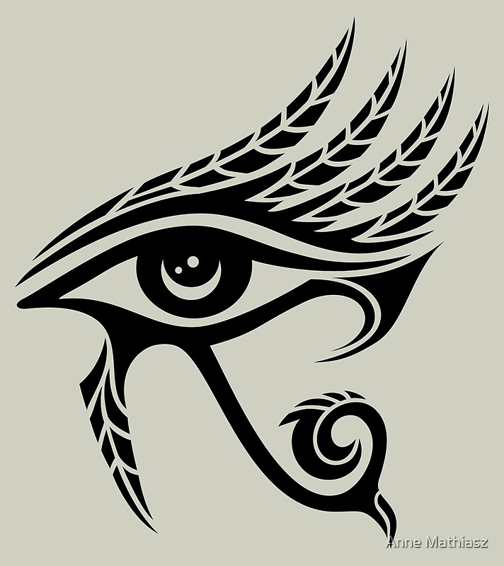 Eye of Horus Protection Symbol Wisdom  Truth Posters