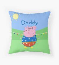 Peppa Pig: Throw Pillows | Redbubble
