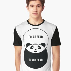 Panda Bear Diagram 7 Pin Trailer Flat Plug Wiring Australia Venn Graphic T Shirt By Offensivefun Redbubble Front