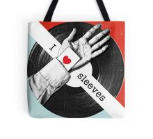 I Love Sleeves Tote Bag