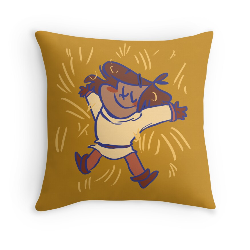 Comfy hay pillow Throw Pillows by AishaThani  Redbubble
