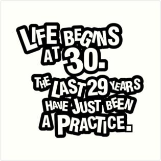 life starts after 30 ile ilgili görsel sonucu