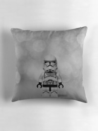 """""""Stormtrooper Lego"""" Throw Pillows by panophobia 