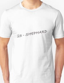 Image result for 23- sheppard lost t-shirt