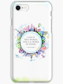 Image result for bookish phone cases redbubble