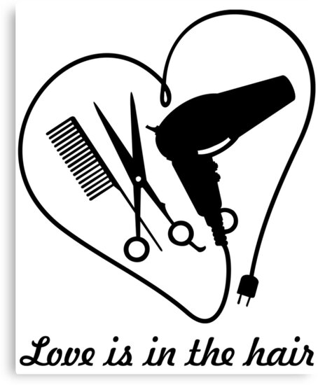 """Download """"Love is in the hair VRS2"""" Canvas Prints by vivendulies ..."""