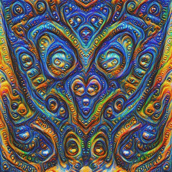 Summer night #DeepDream B