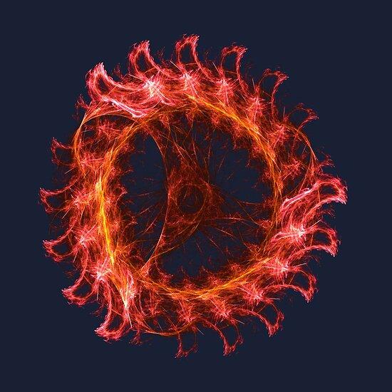 I am the Fire! #fractal