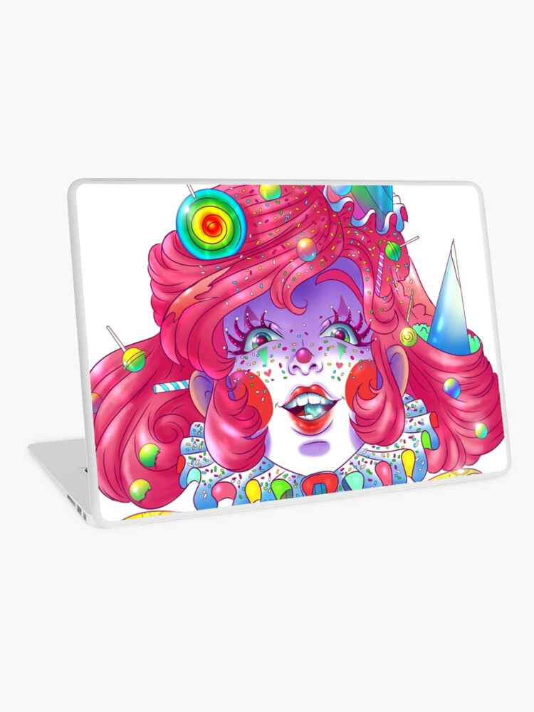 candy the clown laptop
