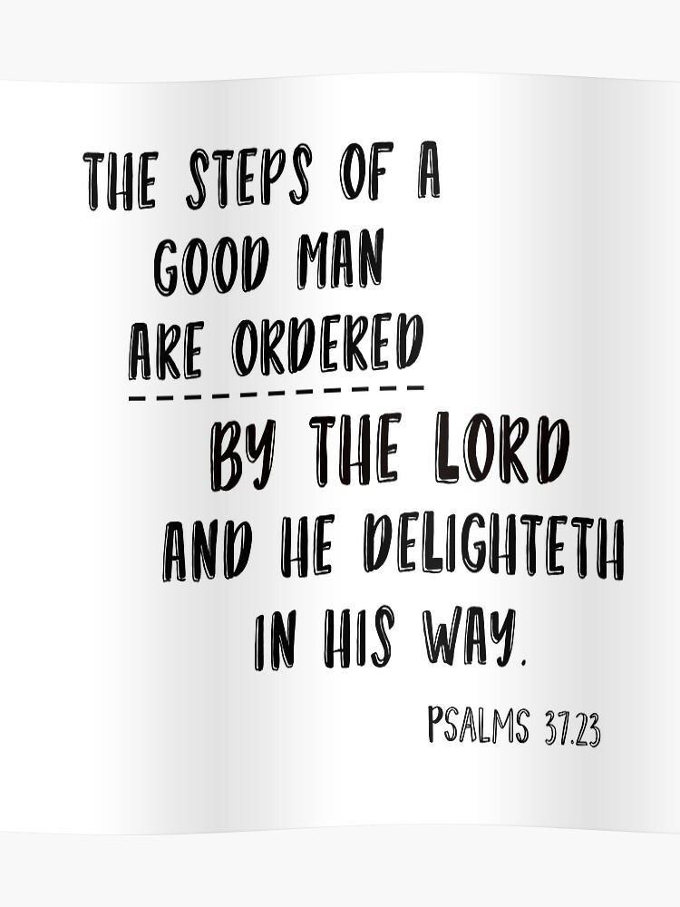 steps of good man