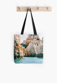 """""""lagos"""" Tote Bags by Nahiiia"""