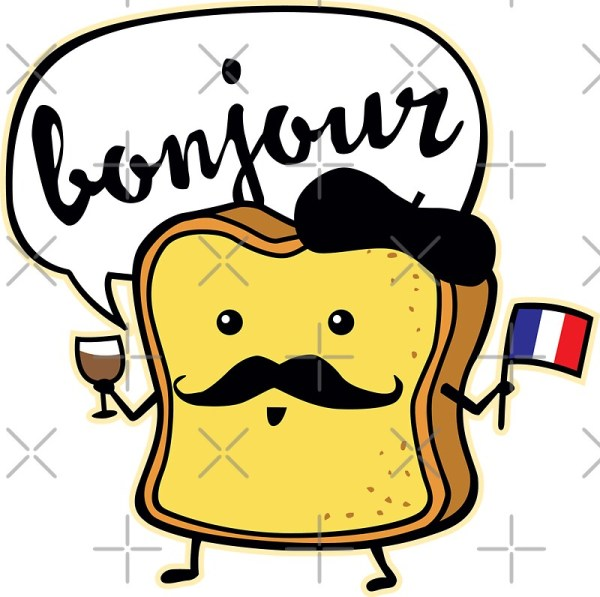 quotFrench Toastquot Stickers by DetourShirts Redbubble