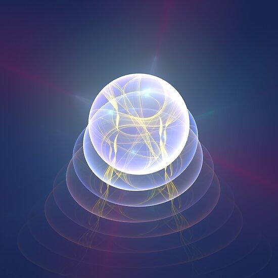 Planet Light #Fractal Art