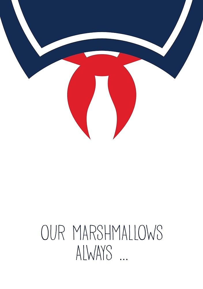Ghostbusters Minimalist Series Stay Puft Marshmallow