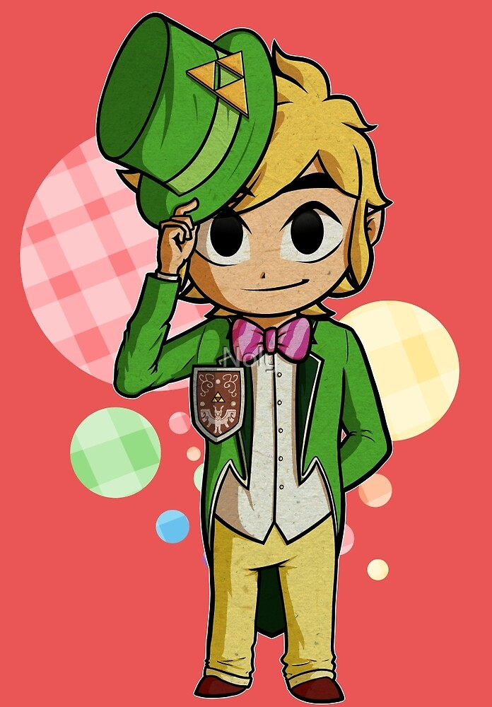 Top Hat Toon Link by Noly  Redbubble