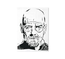 « Breaking Bad: pochoir Heisenberg », Posters par Digitize