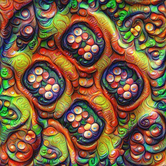 Still life with fruits #DeepDream