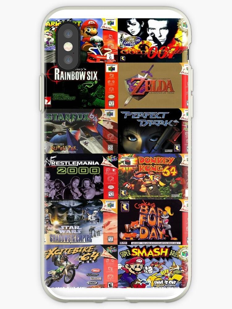 n64 game covers phone