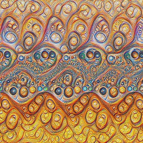 Sand waves #DeepDream #Art