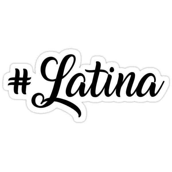 Latina Stickers by johannabaker  Redbubble