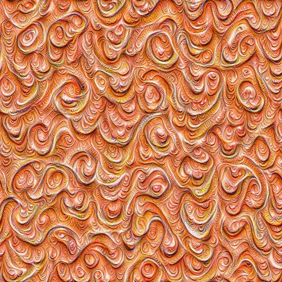 Surface texture #DeepDream #Art Red