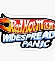 widespread panic stickers redbubble