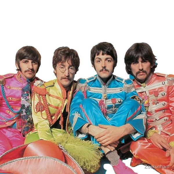 Beatles Postcards Redbubble