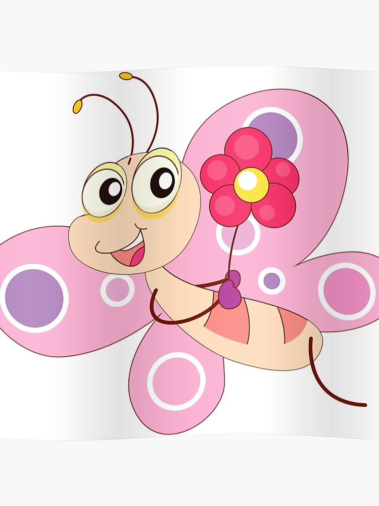 cute funny cartoon flying