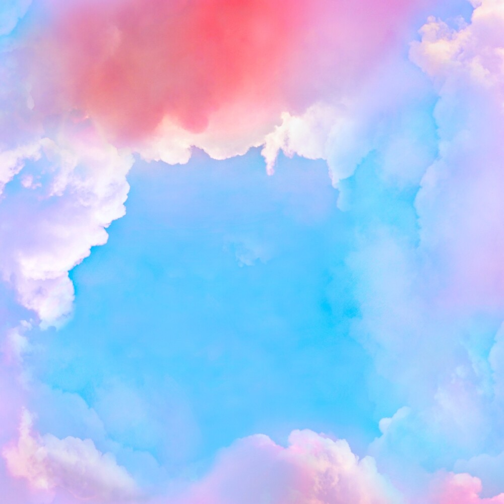 Background with dreamy clouds by Babarobot  Redbubble