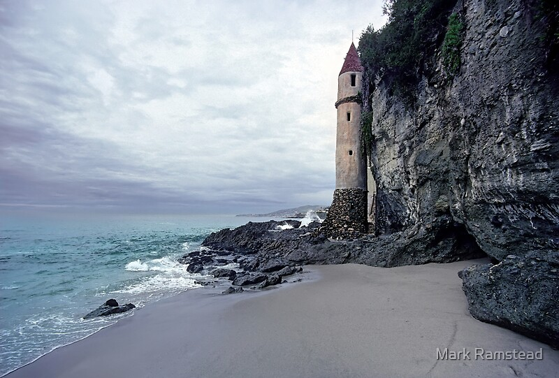 Castle Turret at Victoria Beach Laguna Beach by Mark